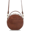 Image of Brahmin Lane Crossbody - Cognac Topsail