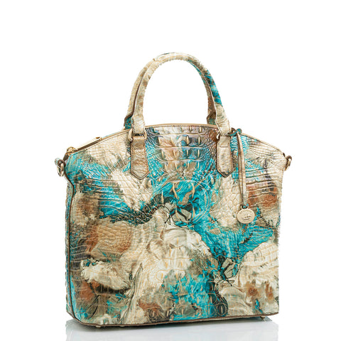 Brahmin Large Duxbury Satchel - Birds of Paradise Melbourne