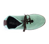 Image of Arcopedico Lace Up Knit Shoe - Green Aqua
