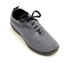 Arcopedico Lace Up Knit Shoe - Titanium