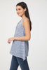 Image of BeachLunchLounge Hayden Sleeveless Button Top - Lakeshore