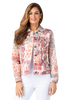 Image of Multiples Jean-Style French Terry Jacket - Multicolor
