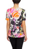Image of Berek Short Sleeve V-Neck Wild Flowers Tee - Multicolor