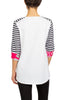 Image of Berek Paris Tee - White/Pink