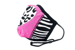 Berek Wild at Heart Mask - Pink/Multicolor