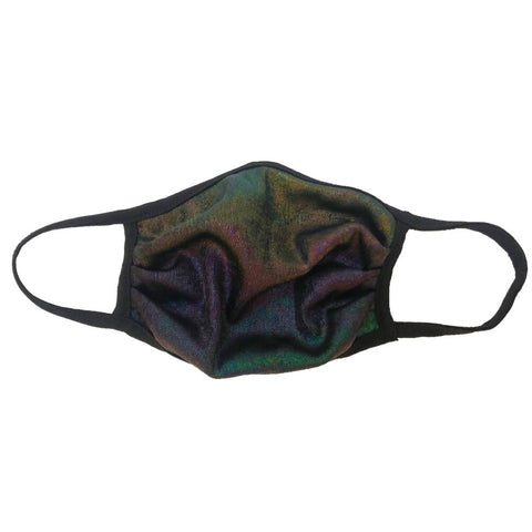 Cloth Fashion Mask Print - Iridescent Multicolor
