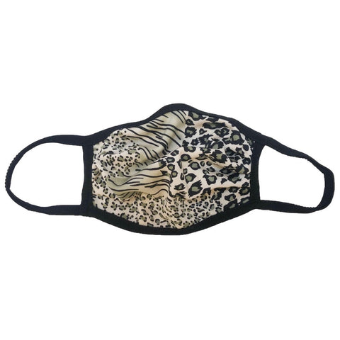 Cloth Fashion Mask Print - Mixed Animal Print