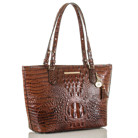 Brahmin Medium Asher Tote - Pecan Melbourne