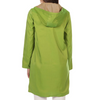 Image of Mycra Pac Hooded Reversible Rain Jacket - Mojito Green/Tan