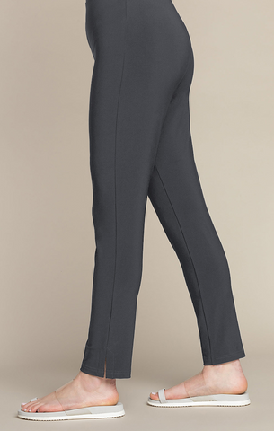 Sympli Narrow Pant Midi - Graphite