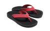 Image of OluKai 'Ohana Toe Post Sandal - Passion Flower/Black