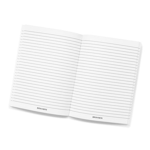Brahmin Journal Refill - White