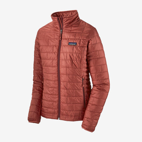 Patagonia Women's Nano Puff Jacket - Spanish Red