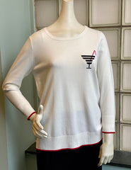 "Project J ""Martini"" Sweater - White/Red"