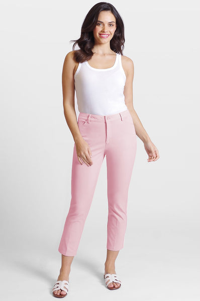 Peace of Cloth Casey Crop Jean - Fairy Pink