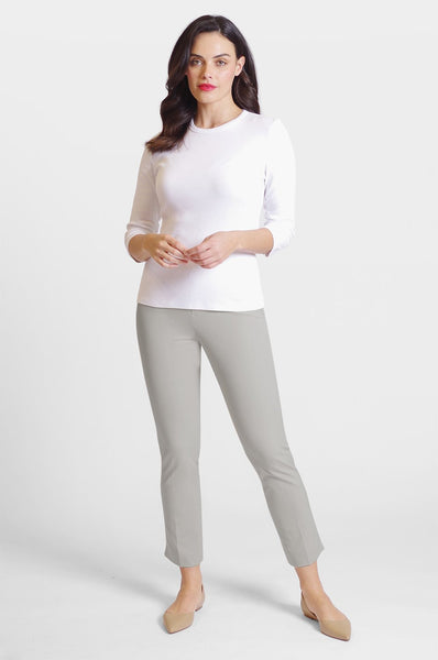 Peace of Cloth Jerry Ankle Pant - Dove Grey