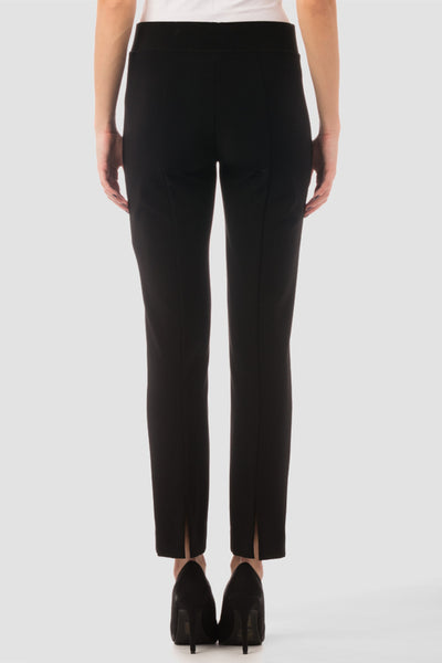Joseph Ribkoff Silky Knit Ankle Pant - Black