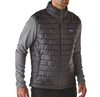 Image of Patagonia Men's Nano Puff Vest - Dark Grey