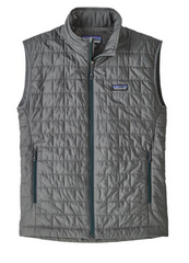 Patagonia Men's Nano Puff Vest - Dark Grey