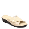 Image of LaPlume Torino Studded Leather Sandal - Bone