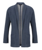 Image of Tribal Knit Boyfriend Blazer - Indigo