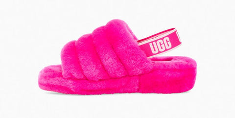 UGG Fluff Yeah Slide - Rock Rose