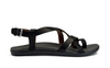 Image of OluKai 'Upena Strappy Toe Loop Slingback Sandal - Black