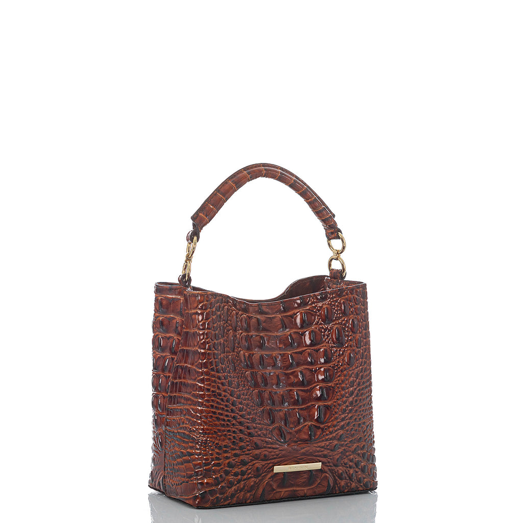Brahmin Mini Amelia Bucket Bag - Pecan Melbourne