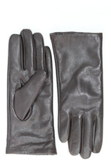 Leather Gloves - Brown