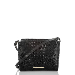 Brahmin Carrie Crossbody - Black Melbourne