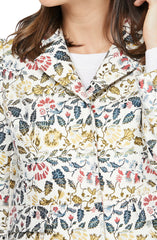 Gal Meets Glam Floral Jacquard Coat - Multicolor - Sugg. $255.00