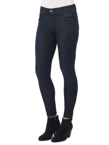 "Democracy ""Ab""solution Booty Lift Jegging - Dark Indigo"