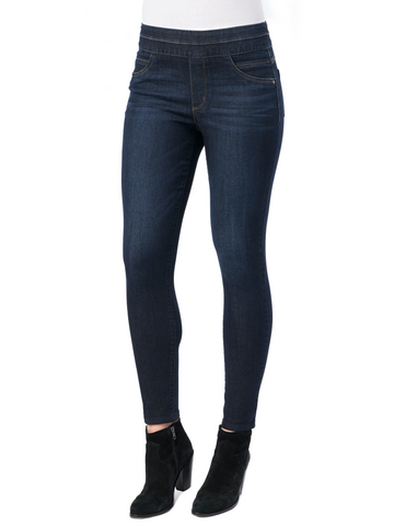 "Democracy ""Ab""solution Hi Rise Ankle Jegging - Indigo"