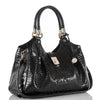 Image of Brahmin Elisa Hobo Satchel - Black Melbourne