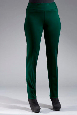 Insight New York Silky Knit Skinny Leg Pant - Emerald