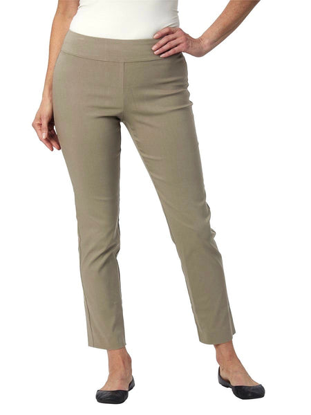 Krazy Larry Pull On Ankle Pant - Military