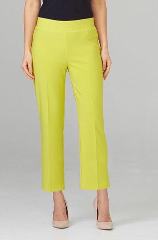 Joseph Ribkoff Silky Knit Ankle Pant - Limeade
