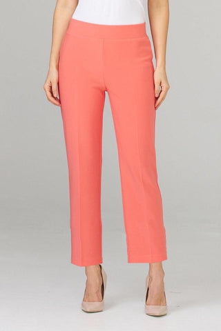 Joseph Ribkoff Silky Knit Ankle Pant - Cantaloupe