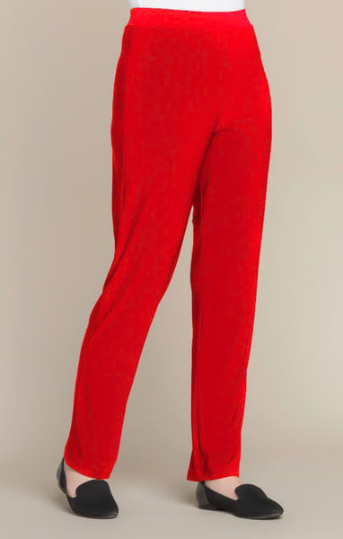 Sympli Essential Pant - Poppy
