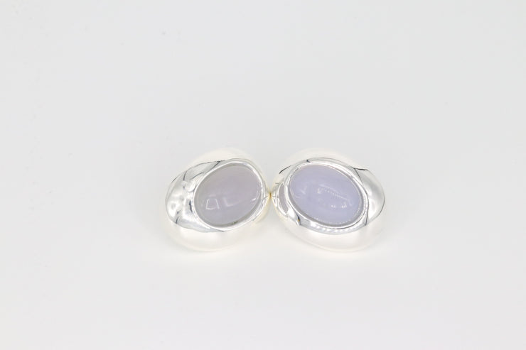 Simon Sebbag Designs - Milky Quartz Halo Earring