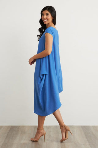 Joseph Ribkoff Cap Sleeve Midi Dress - Aegean Sea