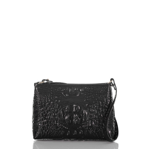 Brahmin Lorelei Small Shoulder Bag - Black Melbourne