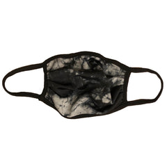 Cloth Fashion Mask Tie-Dye Print - Grey/Black