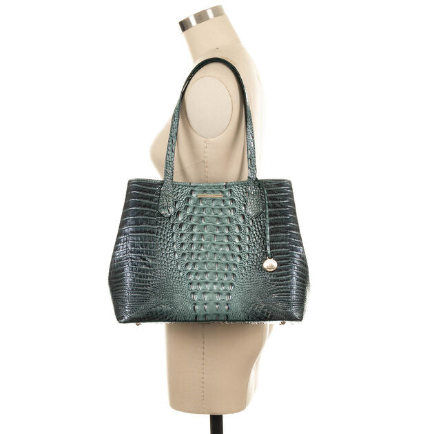 Brahmin Medium Julian Tote - Obsidian Melbourne