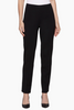 Image of Ming Wang Straight Leg Knit Pant - Black