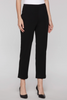Image of Ming Wang Straight Leg Knit Ankle Pant - Black