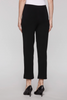 Image of Ming Wang Plus Size Straight Leg Knit Ankle Pant - Black
