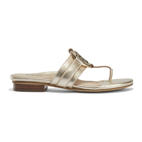 Earth Shoes Mykonos Tinos Sandal - Gold