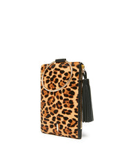 Thacker New York Nolita Clutch - Leopard Haircalf