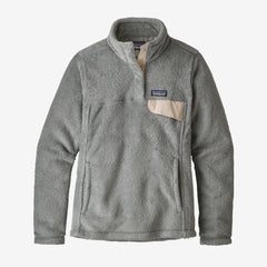 Patagonia Women's Re-Tool Snap-T Fleece Pullover - Tailored Grey